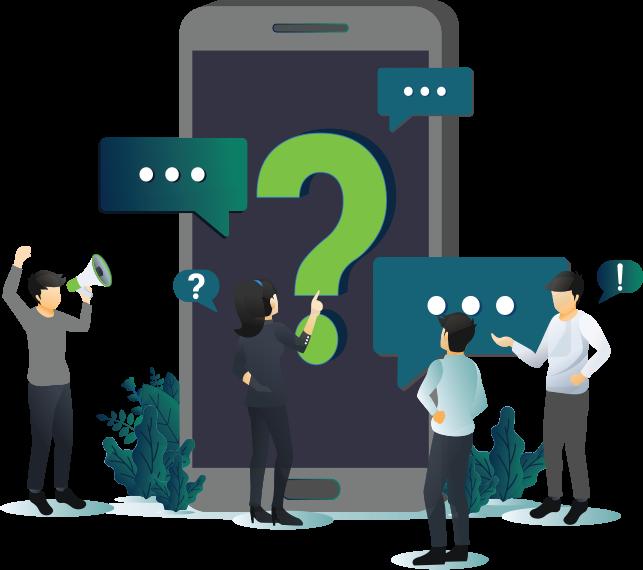 Journey Management System | JMS - FAQ Illustration
