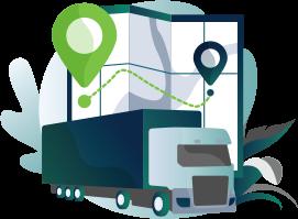 Journey Management System | JMS - IVMS Illustration