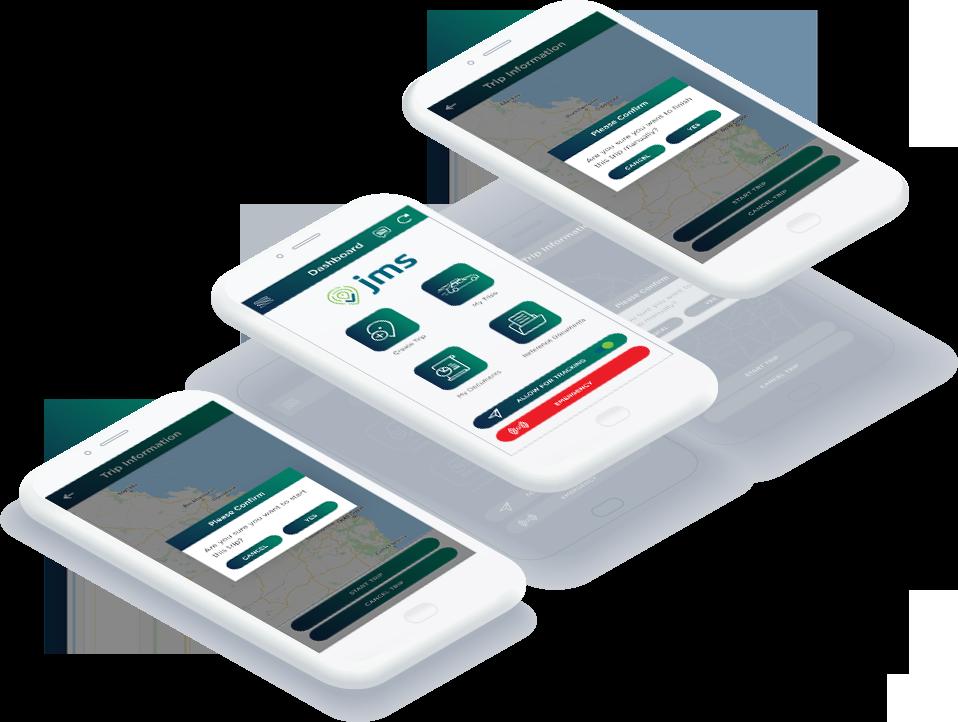 Journey Management System | JMS - software features