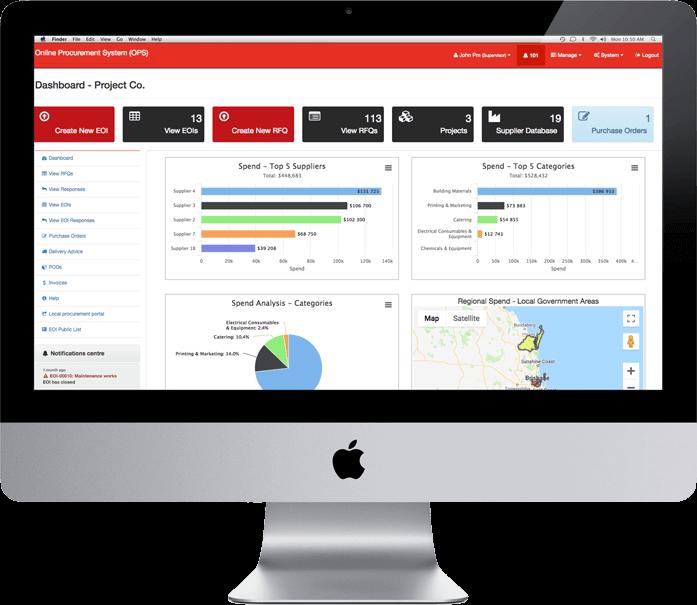 Journey Management System | JMS - Partner, Online Procurement System
