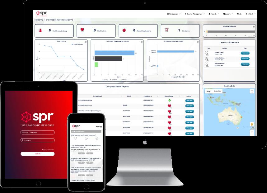 Journey Management System | JMS - Partner, SPR, Site Pandemic Response